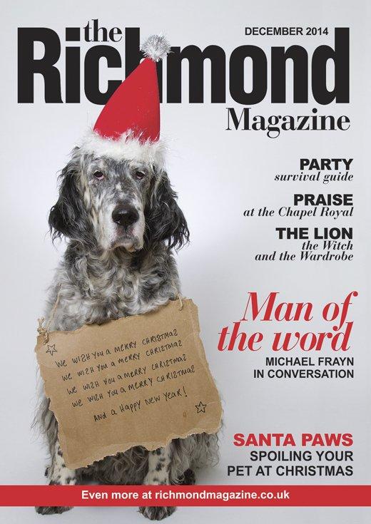 Richmond magazine dog cover