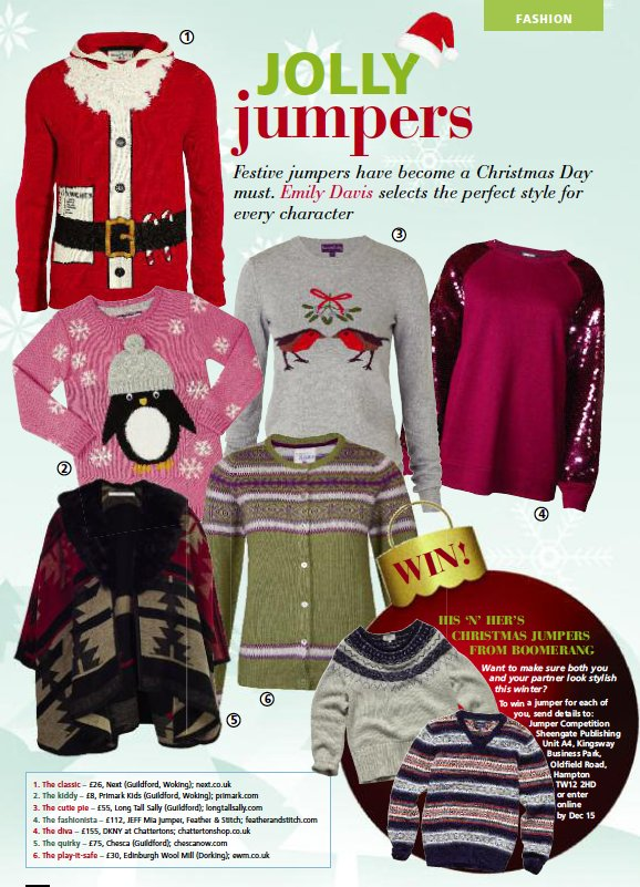 christmas jumper fashion