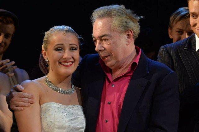Andrew Lloyd Webber at ArtsEd Production of Evita, 2013.jpg