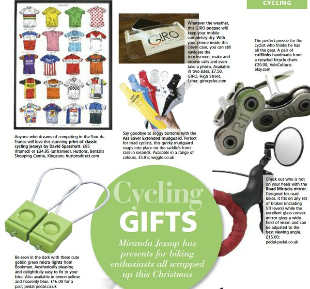 Gifts for cycling lovers