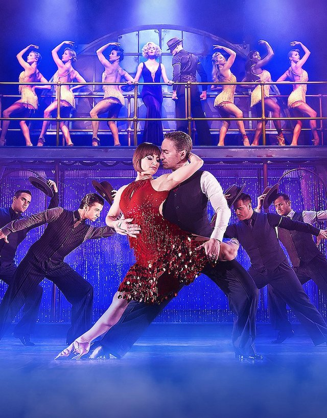 flavia and vincent in dance til dawn