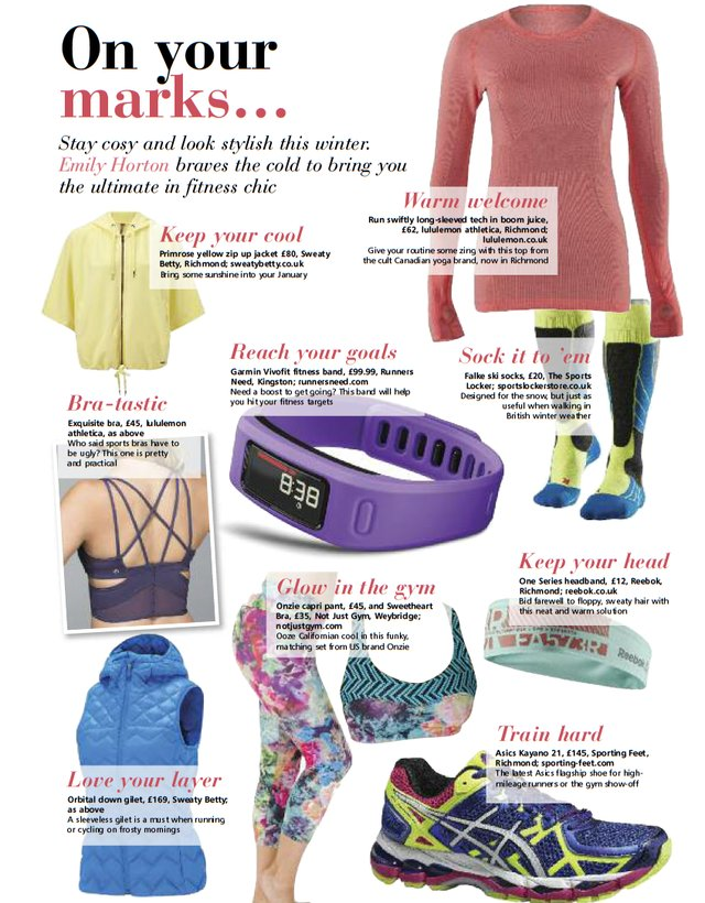 sportswear fashion january 2014