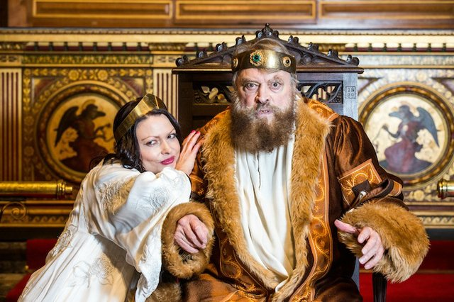 brian blessed and rosalind blessed king lear