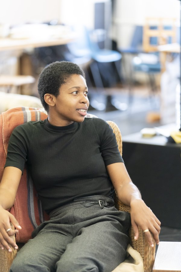 Gloria Obianyo (Marianne) in rehearsals for Girl From the North Country, Photographer Johan Persson.jpg