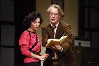Stephen Tompkinson  as Frank. Jessica Johnson as Rita