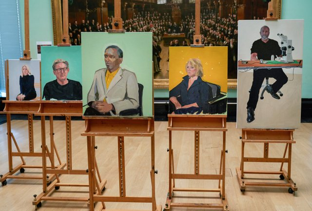 Christabel's portraits from Portrait Artist of the Year.jpg