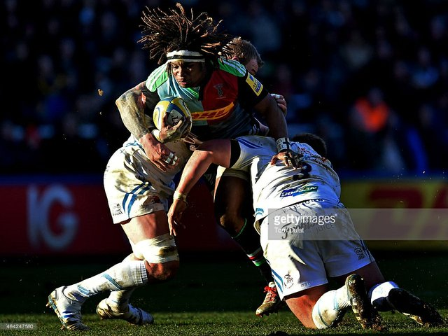 Harlequins lost 21-32 to Exeter