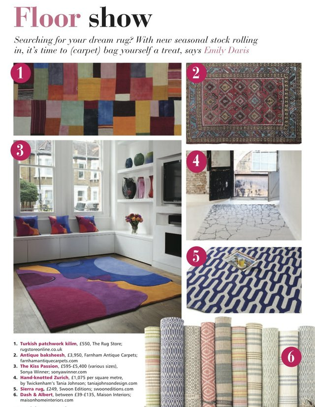 Homestyle: rugs