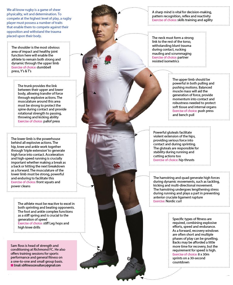 Full body workout - building a rugby player - Essential Surrey