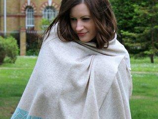 Miss Knit Nat lambswool wrap linen and seafoam main.jpeg