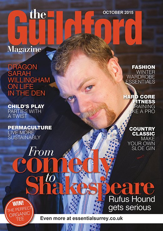 Guildford Magazine November – Rufus Hound