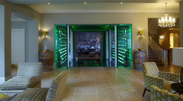 Reception area and vault The Vineyard Hotel.jpg