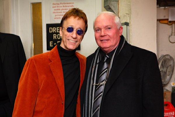 Robin Gibb and Jim Dooley