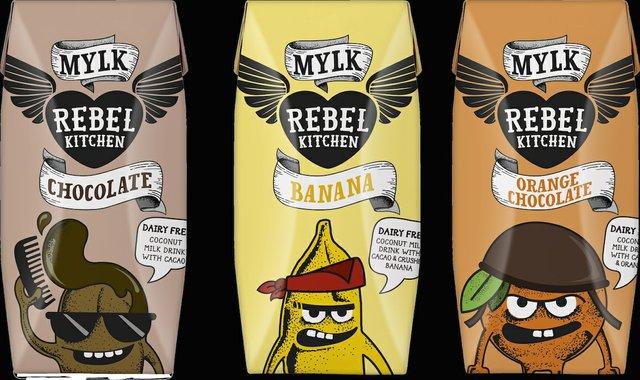 Rebel Kitchen mylks for kids