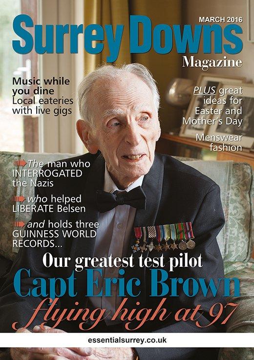 Capt Eric Brown - Surrey Downs Magazine March 2016