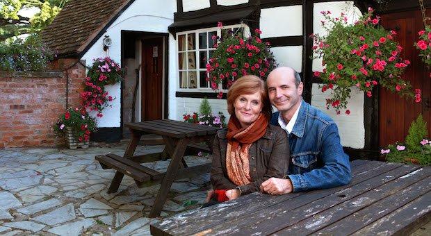 Credit - BBC. Kenton and Jolene Archer outside The Bull copy1.jpeg