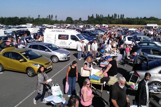 Car Boot Sale St Helens Saturday