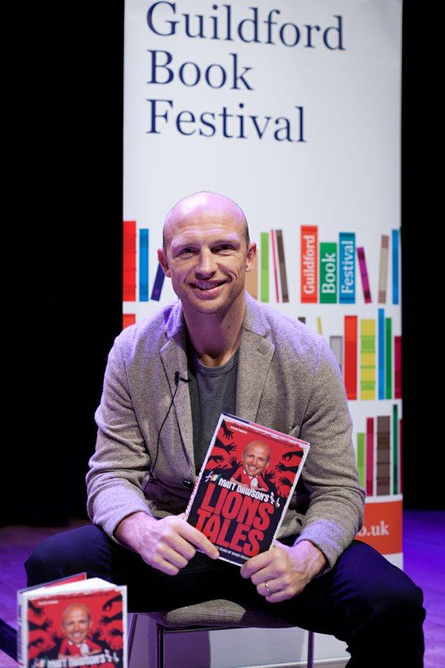 Matt Dawson Guildford Book Festival