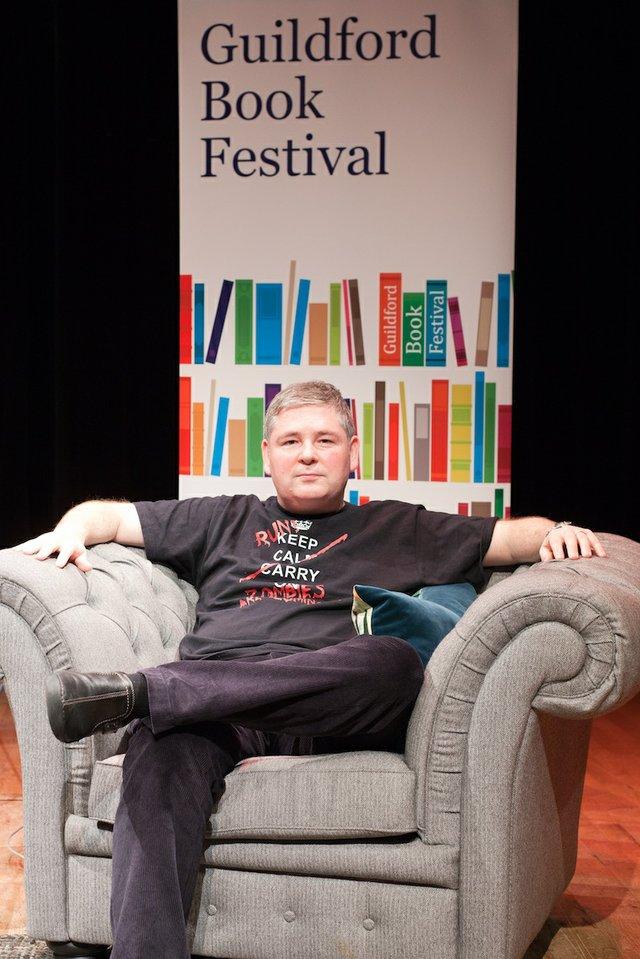 Darren Shan at The Guildford Book Festival