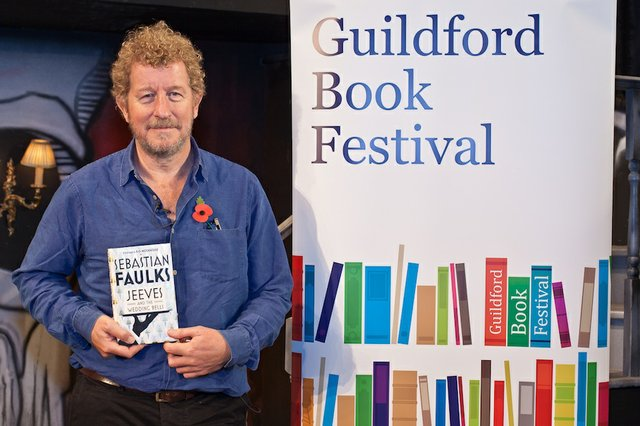 Sebastian Faulks Guildford Book Festival