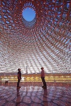 UK Pavilion internal shot at dusk, Courtesy of UKTI, Photographer Credit - Hufton+Crow copyweb.jpeg