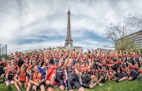 Bob Munro Mye Cyclist London to Paris