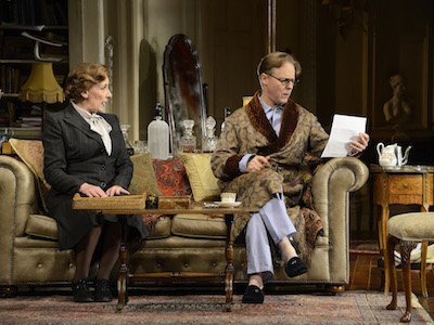 nc-Present Laughter Phyllis logan (Monica Reed), Samuel West (Garry Essendine) 009.jpg
