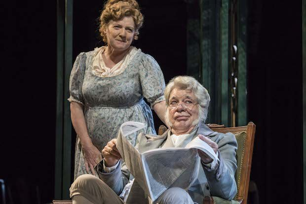 Matthew Kelly and Felicity Montagu as Mr and Mrs Bennet [2]. Photo Johan Persson.jpg
