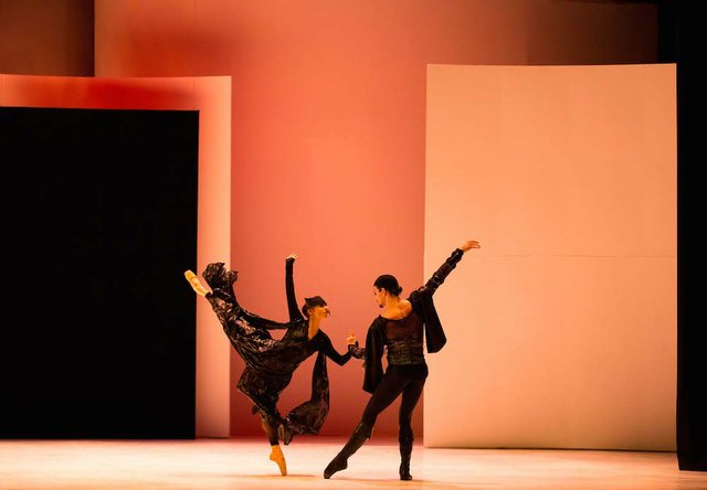 Lucia Solari as Lady Capulet and Javier Torres as Tybalt in Jean-Christophe Maillot's Romeo and Juliet. Photo Andy Ross.jpg