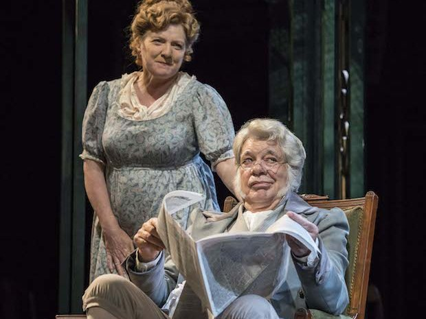 Matthew Kelly and Felicity Montagu as Mr and Mrs Bennet [2]. Photo Johan Persson[1].jpg