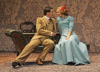 Luke Adamson as Gerald Forbes and Sophia Hatfield as Nancy Holmes--«nc-When We Are Married-001 (1).jpg