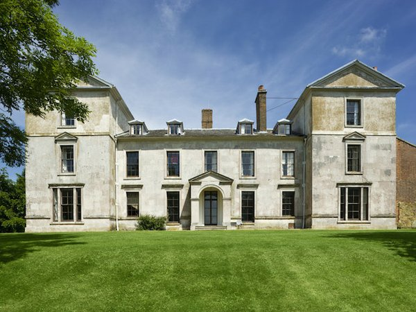 The south front of Leith Hill Place, Dorking, Surrey (Now open to the public)