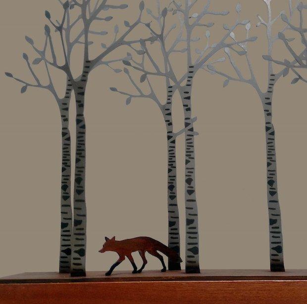 3. David Mayne, Through the Birchwood (detail).jpg