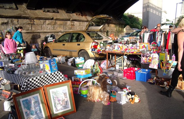 Sunday Car Boot Sale North London