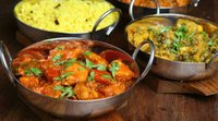 Indian Curry Food Dishes