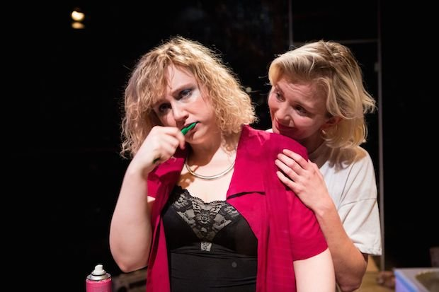 8_ Katherine Pearce and Sophie Melville in LOW LEVEL PANIC - Orange Tree Theatre - photo by Helen Murray.jpg