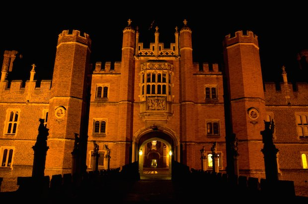 Hampton Court at Night 2 Copyright HRP.jpg