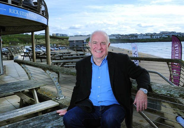 Big fish we interview rick stein essential surrey sw for Rick s fish and pet