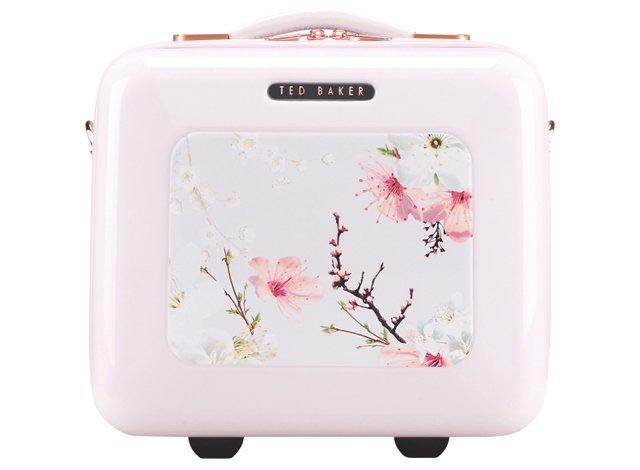 John Lewis Ted Baker Oriental Blossom Vanity Case, Pink £140 copy.jpg