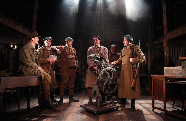 YAT MAIN STAGE The Wiper Times George Kemp, Jake Morgan, Kevin Brewer, James Dutton, Peter Losasso, Dan Tetsell CREDIT Philip Tull.JPG