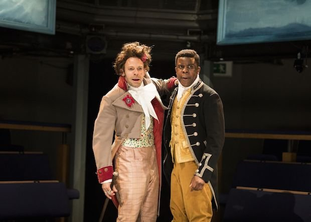Keir Charles and Ashley Zhangazha in THE LOTTERY OF LOVE - Orange Tree Theatre - photo by Helen Maybanks.jpg