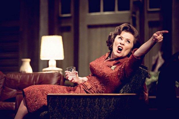 Imelda Staunton in Edward Albee's Who's Afraid of Virginia Woolf? Credit Johan Persson.jpg.jpg