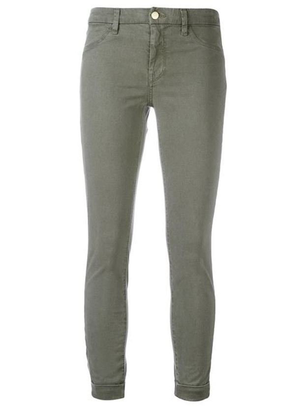 Anya Grey Cropped Jeans