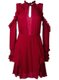 Hanie Cold-Shoulder Dress