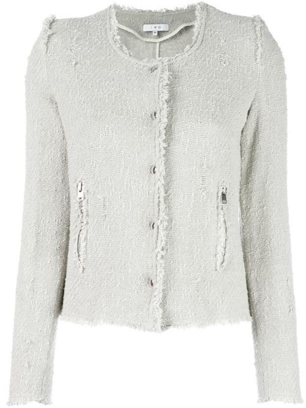 Agnette Bleached Grey Jacket