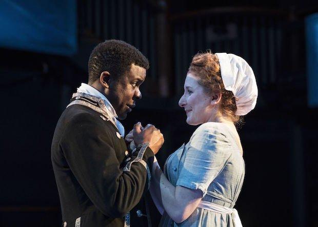 Ashley Zhangazha and Dorothea Myer-Bennett in THE LOTTERY OF LOVE - Orange Tree Theatre - photo by Helen Maybanks.jpg